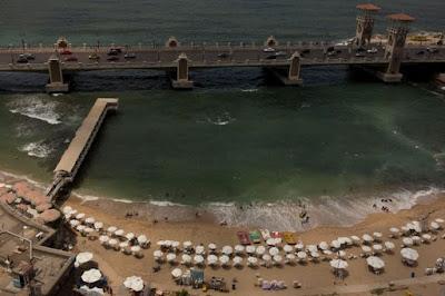 Η άνοδος των θαλασσών απειλεί την ιστορική Αλεξάνδρεια