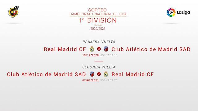 ديربى مدريد بين ريال مدريد أتلتيكو مدريد 2021