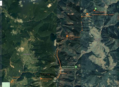 Кам'янка мапа походу