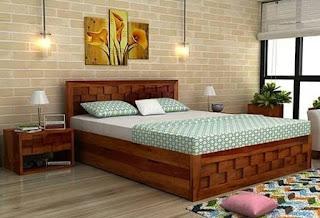 Model dipan kayu biasa