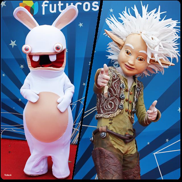 Arthur  et le lapin crétin du Futuroscope