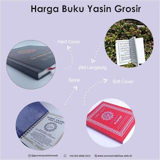 Cek Harga Buku Yasin Grosir, Hanya DISINI!!!