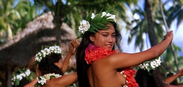 Секс с малышками на таити