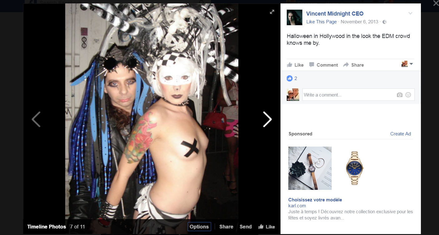 Vincent Mazzotta aka Vincent Midnight Runway