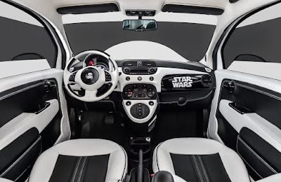 Fiat 500E Stormtrooper ala Star Wars