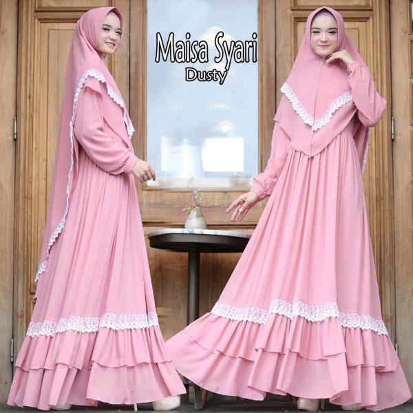 Jual Baju Busana Muslim Gamis Maisa Syari