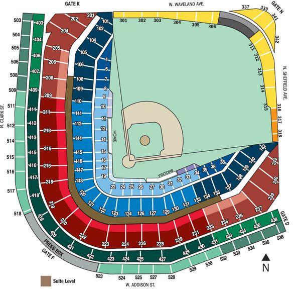 Chicago Subway Map Wrigley Field.Baseblog Wrigley Field 101 Streets Eats And Seats