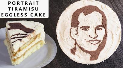 eggless birthday cake