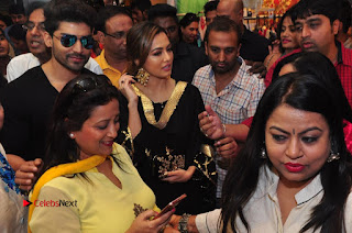 Bollywood Actress Sana Khan Launches Aakrithi Exibition  0308.JPG