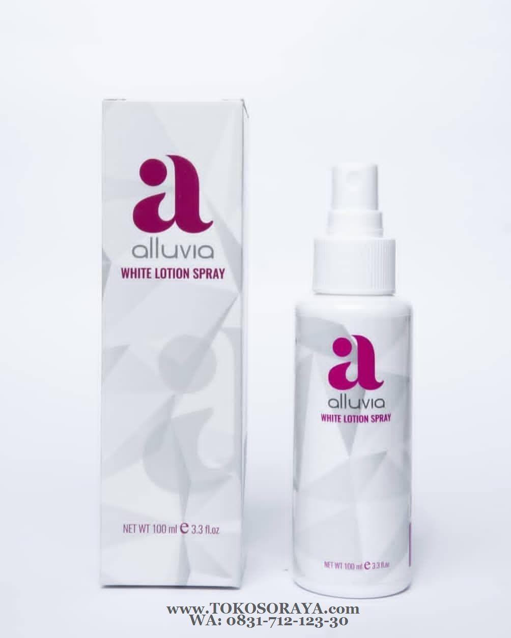 photo produk alluvia white lotion spray