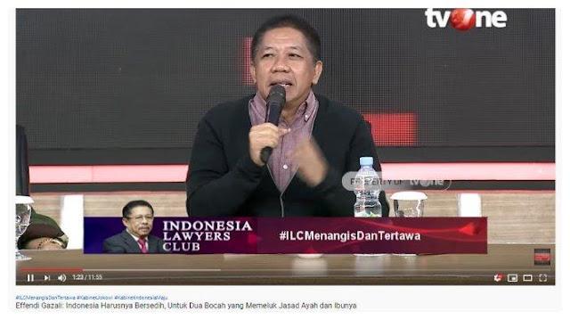 Effendi Gazali Samakan Kabinet Jokowi Layaknya Film Joker: Presiden Bukan Tukang Es Krim