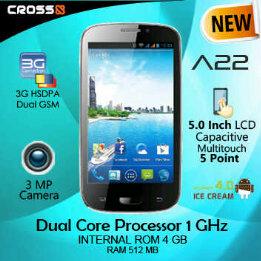 review singkat, spesifikasi dan harga HP Cross Andromeda A22