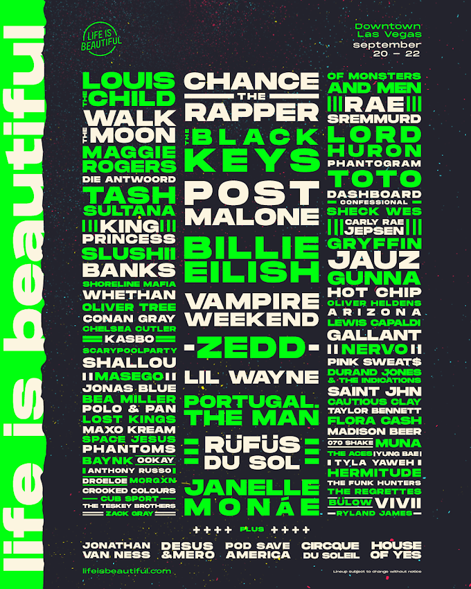 Life Is Beautiful Festival 2019