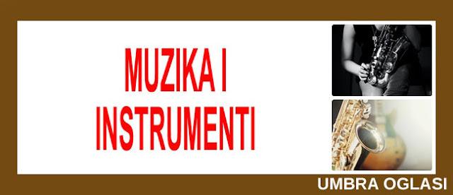11. - PRODAJA MUZIČKIH INSTRUMENATA NA UMBRA OGLASIMA