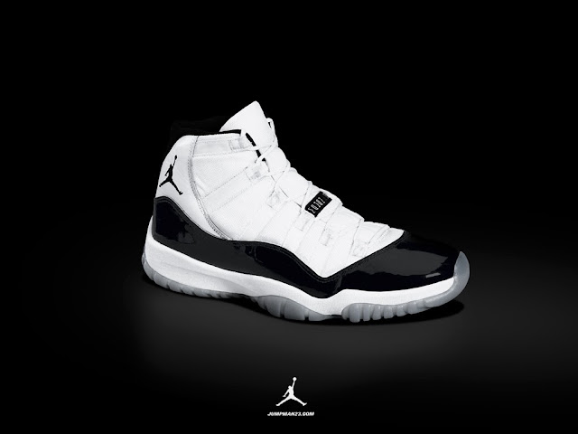 best loved 9a0eb ee847 The Air Jordan 11 released in 1995 and was designed by Tinker Hatfield. It  was the first Nike Jordan basketball sneaker to use patent leather and  carbon ...