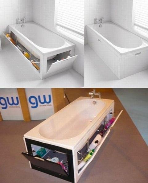awesome kids bathroom storage ideas | GallSensei: Chindogu-Japanese inventions
