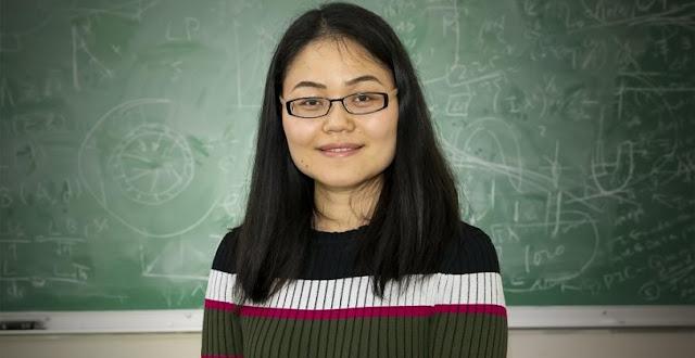 PPPL physicist Lan Gao. Credit: Elle Starkman