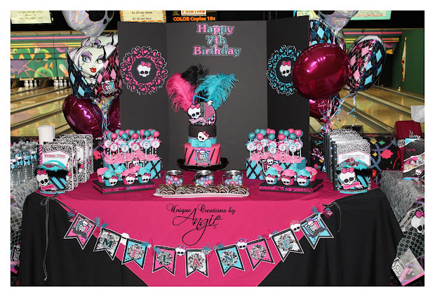 Scrappin Memories Monster High 7th Birthday Bash