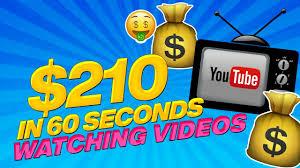 🔥 Fast $210 In 60 Seconds Watching Youtube Videos! WORLDWIDE Make Money Online 2020
