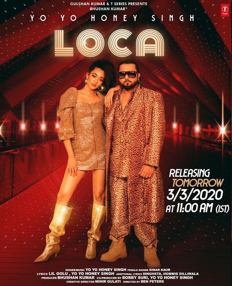 Loca By Yo Yo Honey Singh 2020 Official Video Song 720p HDRip 50MB