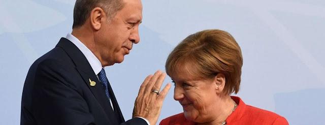Η Ε.Ε. της Μέρκελ και του φίλου της Ερντογάν