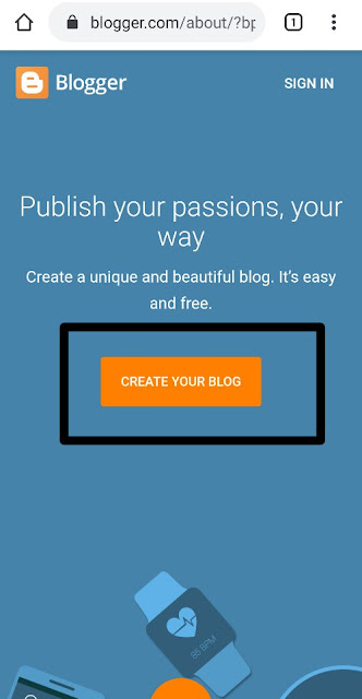 Create Your Blog Blogger how to