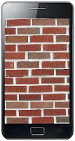 Brick on Android screen