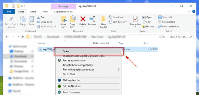 Huong dan cai dat va kich hoat SAP2000 (v20.2.0)