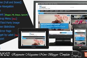 Purez v2.0 – Responsive Magazine Blogger Template