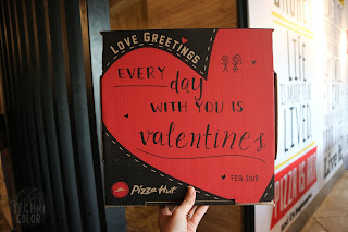 Say It with Pizza Hut Limited Edition Valentine's Box