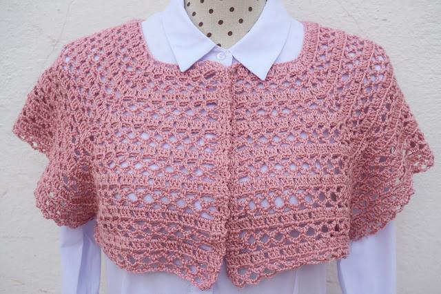 2 - Crochet Imagen Canesú para chaqueta de primavera a crochet por Majovel Crochet