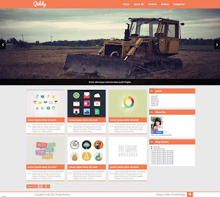 Qiddy Blogger Template