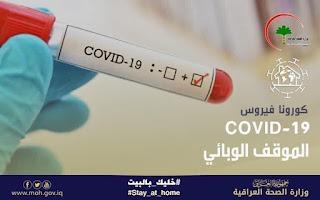 فايروس كورونا يتخطى الف مصاب في العراق