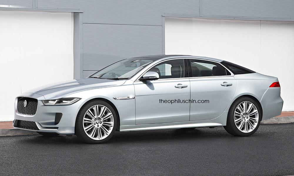 Imagining What Jaguar's Next-Gen XJ Might Look Like ...