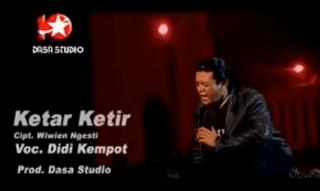 Lirik Lagu Ketar Ketir - Didi Kempot