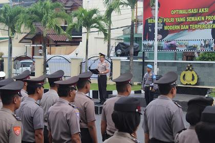 Upacara Hari Kesadaran Nasional Wujud Pembinaan Disiplin Polri