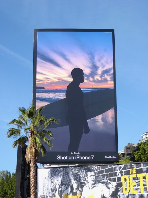 Shot on iPhone 7 Surfer Olym L billboard