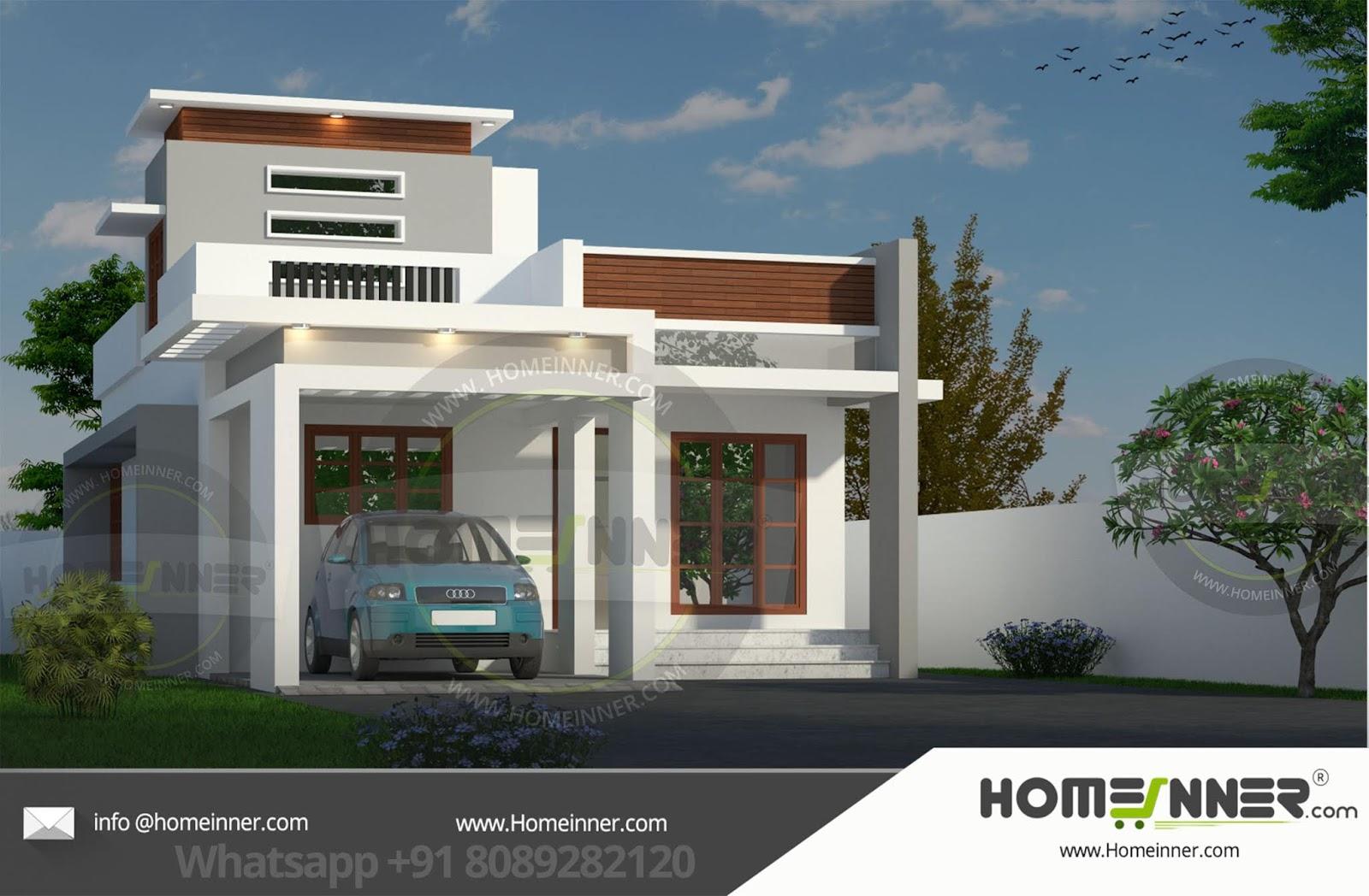 13 Lakh 2 BHK 953 sq ft Imphal Villa floor plan