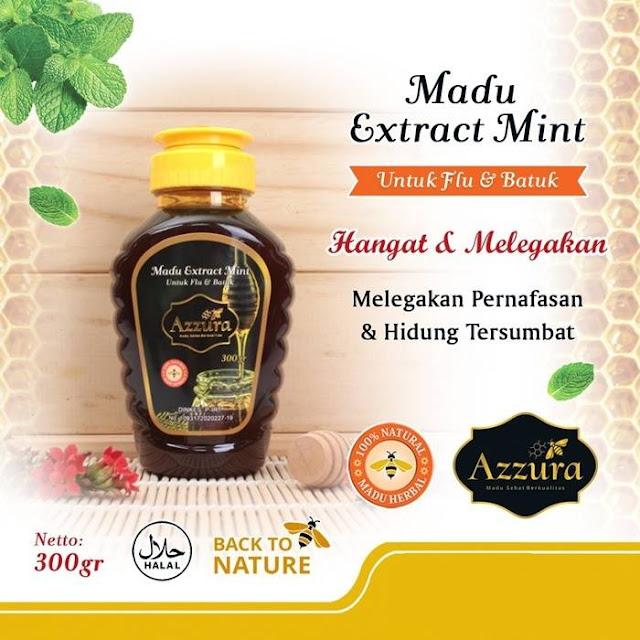 Madu Azzura Extract Mint 300 gr