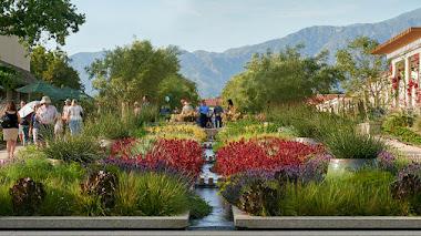 California Garden en The Huntington: flora nativa y plantas tolerantes a la sequía