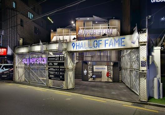 oído Acuerdo carta  adidas salón de la fama Superstar en Seúl, Corea del Sur / URBANTAINER