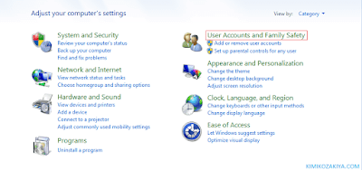User Accounts and Family Safety