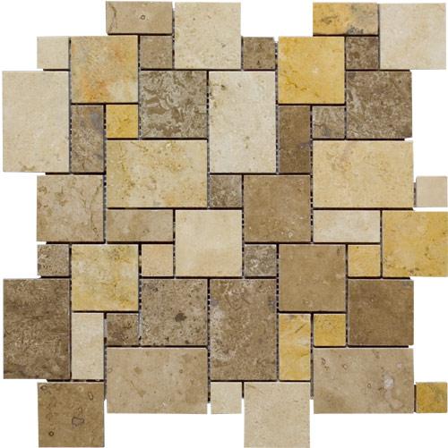 Ubuytile Com Mini Versailles Stone Mosaic