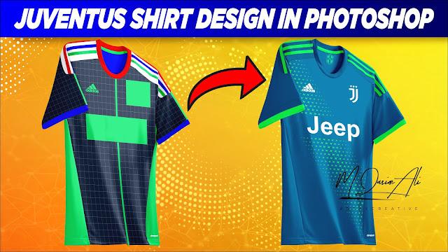 Juventus Away 2019-20 Shirt Design In Photoshop Cc 2019 By M Qasim Ali