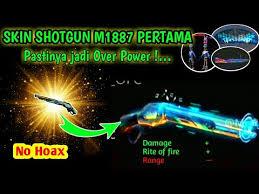 5 Kode Redeem FF 23 Agustus 2020 Skin Shotgun M1887