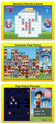 juegos de la patrulla canina para jugar ahora