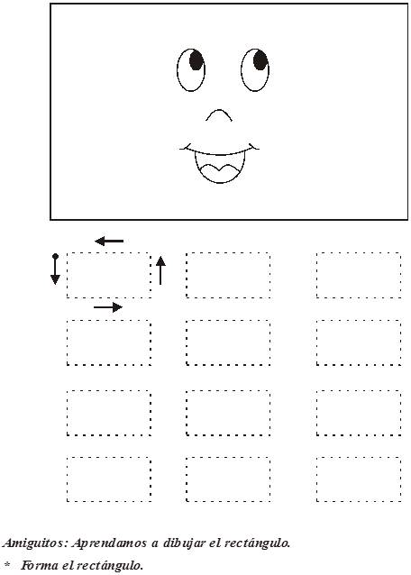 Dibujos Infantile Para Colorear De Rectangulos Imagui