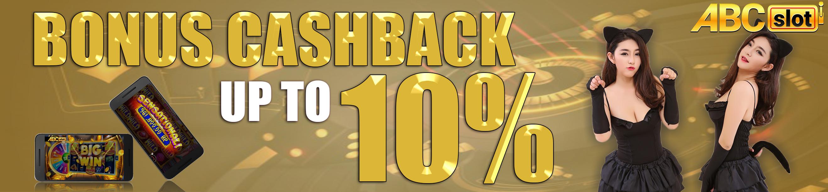 BONUS CASHBACK UP TO 10%