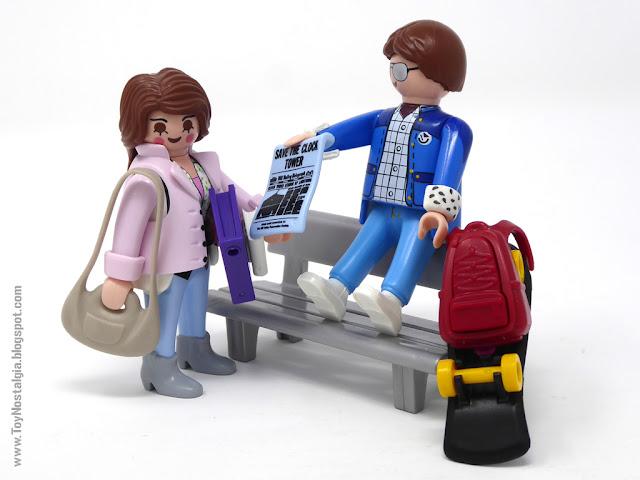 Jennifer Parker y Marty Mc Fly Playmobil Volver al Futuro - Calendario de Adviento (Playmobil Back To The Future - Calendario de Adviento)