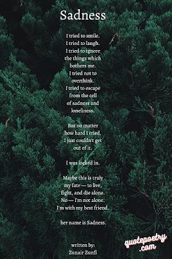 Amazing sad poems for love